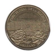 45003 - MEDAILLE TOURISTIQUE MONNAIE DE PARIS 45 - Parc Floral De La Source 2003 - Monnaie De Paris