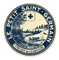 ETIQUETTE De FROMAGE..Le PETIT SAINT GERMAIN.. Fabriqué En CHAMPAGNE - Cheese