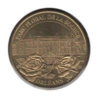45004 - MEDAILLE TOURISTIQUE MONNAIE DE PARIS 45 - Parc Floral De La Source 2003 - Monnaie De Paris