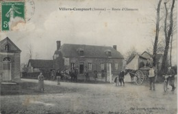VILLERS - CAMPSART - Route D'Oisemont - Frankreich
