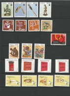 ANGOLA  14 YEARS  Issues (1994-2007 Y.y.). 222stamps+66 M/sheets.MNH - Angola
