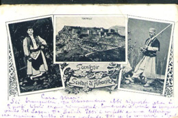 RB83 SOUVENIR DE SCUTARI D'ALBANIE ( RETRO INDIVISO 1900) - Albania