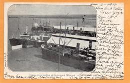 Galveston Tex 1908 Postcard Mailed - Galveston