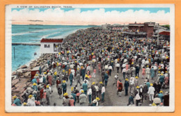 Galveston Tex 1929 Postcard Mailed - Galveston