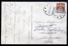 Denmark 1932 Cards Sallingsund  MiNr.184 Nykøbing M. Melby ( Lot  2065) - 1913-47 (Christian X)