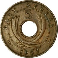 Monnaie, EAST AFRICA, Elizabeth II, 5 Cents, 1951, TTB, Bronze, KM:37 - Colonie Britannique