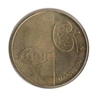 54001 - MEDAILLE TOURISTIQUE MONNAIE DE PARIS 54 - AIR54 Marche Du Rein - 2009 - Monnaie De Paris