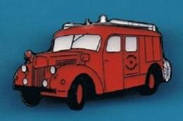 1 PIN'S //  ** CAMION POMPIER FPT BERLIET GLC ** . (© Qualité Collectors Série Limitée Paris) - Pompiers