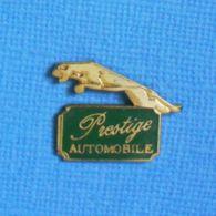 1 PIN'S //  ** AUTOMOBILE PRESTIGE / EMBLÈME JAGUAR BONDISSANT ** - Jaguar