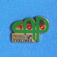 1 PIN'S //  ** CAP100 / FRANCE TELECOM / YVELINES ** - Telecom De Francia