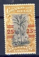 Belg.Kongo - Congo Belge  (x) Nr 88      Postfris Plakker - Neuf Charnière  - MH - 1894-1923 Mols: Nuevos