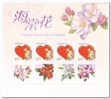 China 2018, Postfris MNH, 2018-6, Chinese Flowering Crabapple - Ongebruikt