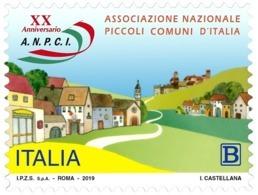 Italia Repubblica 2019 Piccoli Comuni D'Italia Euro 1,10 MNH** Integro - 6. 1946-.. República