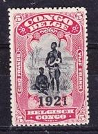 Belg.Kongo - Congo Belge  (x) Nr 93      Postfris Plakker - Neuf Charnière  - MH - 1894-1923 Mols: Neufs