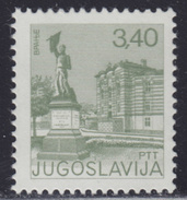 Yugoslavia 1977 Definitive - Tourism - Vranje, MNH (**) Michel 1694 - 1945-1992 République Fédérative Populaire De Yougoslavie