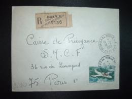 LR TP AVION MS 760 3,00 OBL.18-2 1969 DIJON RP AN. MOBILE N°1 COTE D'OR (21 ANNEXE MOBILE) - Storia Postale