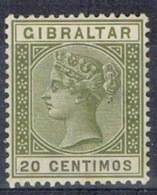 DO 15289 GIBRALTAR SCHARNIER YVERT NRS 30  ZIE SCAN - Gibraltar