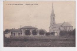 33 LE HAILLAN L'église Les écoles - France