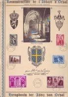 Reconstruction De L'abbaye D'Orval - Cartas Commemorativas