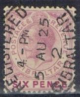 DO 15290 GIBRALTAR GESTEMPELD  YVERT NRS 79 ZIE SCAN - Gibraltar