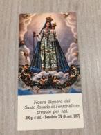 Santino Nostra Signora Del Santo Rosario Di Fontanellato (pr) - Santini