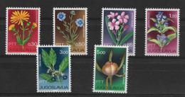 YUGOSLAVIA 1967 FLOWERS  MNH - Altri