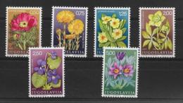 YUGOSLAVIA 1969 FLOWERS  MNH - Altri