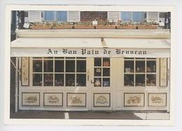 """Beuvron En Auge : Boulangerie Patisserie """"Au Bon Pain De Beuvron"""" M. Mme Laurent Roussel Propriétaires (cp Vierge) - Frankreich"""