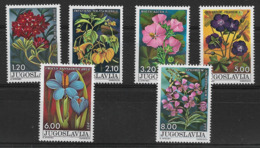 YUGOSLAVIA 1975 FLOWERS  MNH - Altri