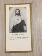 Santino Sacro Cuore Di Gesu' - Santini