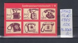 DDR Michel Kat.Nr.  SMHD Postfr 12ca (Inhalt Postfr 10x3067) - DDR