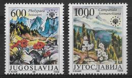 YUGOSLAVIA 1988 FLOWERS  MNH - Altri