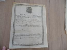 Mandement Requête Marie Nicolas Fournier Évêque Montpellier Grand Croix Ordre De Malte 1830 Saint Martin De Londres - Religion & Esotérisme