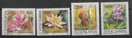 YUGOSLAVIA 1989 FLOWERS  MNH - Altri