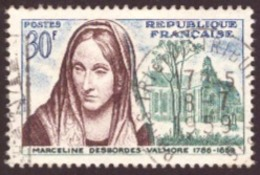 France 1959 -  The 100th Anniversary Of Marceline Desbordes-Valmore  30F TBE - France