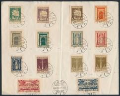 1923 26 Klf Fiume Bélyeg 'FIUME' Bélyegzéssel Papírlapon - Francobolli