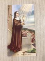 Santino S. Clara Assisiensis - Santini