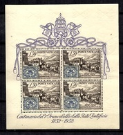 Vatican Bloc-feuillet YT N° 1 Neuf ** MNH. TB. A Saisir! - Blocks & Sheetlets & Panes