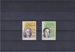 SAINT MARIN 1985 EUROPA MUSIQUE Yvert 1107-1108 NEUF** MNH - San Marino
