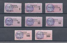 Fiscaux Super Lot De Timbres Viandes Neufs ** - Steuermarken