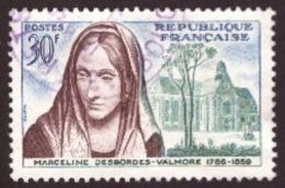 France 1959 -  The 100th Anniversary Of Marceline Desbordes-Valmore  30F TBE - Usados