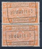 "TR 257 (paar/paire) - ""BAUDOUR - (ST-GHISLAIN)"" - (ref. 29.748) - Railway"