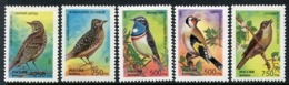 RUSSIA 1995 Song Birds MNH / **.  Michel 440-44 - Neufs