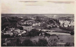 29 CHATEAULIN Vue Panoramique Kerlobret, Viaduc, Gare Et Penarun, Notre-Dame Et La Ville - Châteaulin