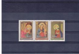 SAINT MARIN 1987 PEINTURES DE FRA ANGELICO NOËL Yvert 1171-1173 NEUF** MNH - San Marino