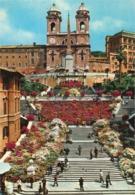 Italy - Roma (Rome) - Piazza Di Spagna - Trinita Dei Monti - Orte & Plätze