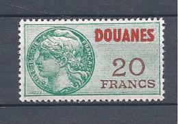 FRANCE FISCAUX DOUANES 20 Francs ** N° 33 - Fiscaux