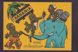 Image Publicité BANANIA Publicitaire Réclame Voir Scan Du Dos éléphant Courbevoie - Pubblicitari
