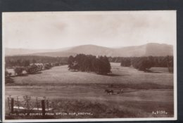 Scotland Postcard - The Golf Course From Spion Kop, Aboyne  DC2423 - Aberdeenshire