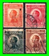 YUGOSLAVIA SELLO AÑO 1921 KING ALEXANDER - 1919-1929 Reino De Los Serbios, Croatas Y Eslovenos